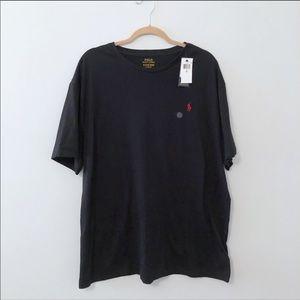 Polo Ralph Lauren Black Classic Fit Tee Shirt XL